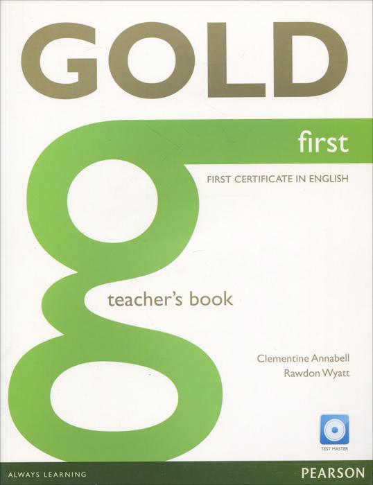 Gold First: Teacher's Book (+ CD-ROM) цепочка на ногу loulan inn jl1048