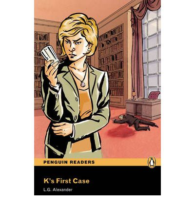 NEW Penguin Readers 3: K's First Case, Book/MP3 Pack