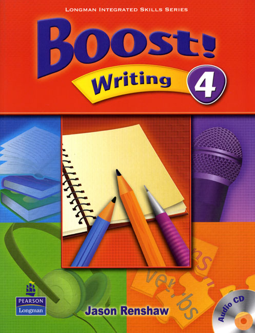Boost! Level 4 Writing Student's Book with CD boost level 4 grammar student's book with cd