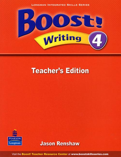 Boost! Level 4 Writing Teacher's book как дшево speed boost через копирование