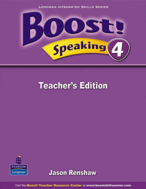 Boost! Level 4 Speaking Teacher's book boost level 4 grammar student's book with cd