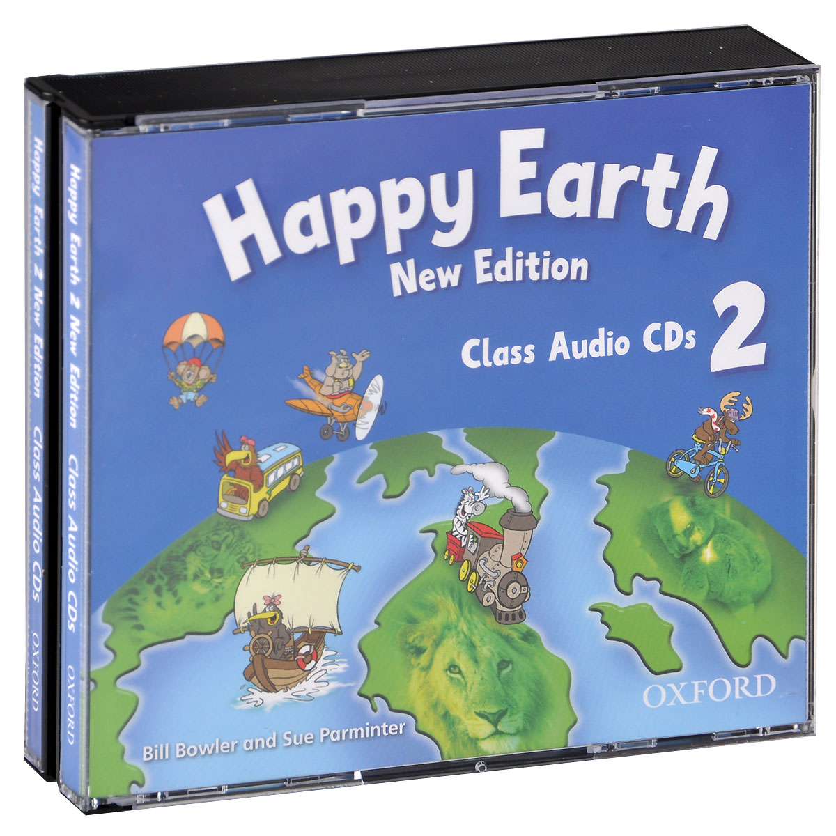 Happy Earth 2: Class Audio (аудиокурс на 3 CD) touchstone teacher s edition 4 with audio cd