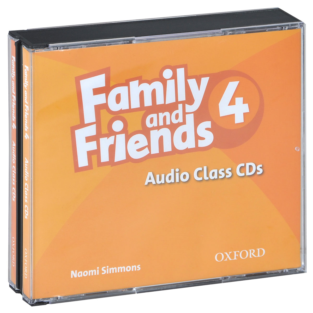 Family and Friends 4: Audio Class (аудиокурс на 3 CD) touchstone teacher s edition 4 with audio cd