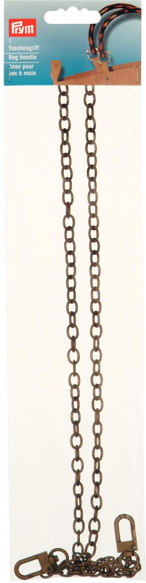 "Ручка для сумок ""Леандра"" (цепочка), 88 см, цвет: латунь, Prym"