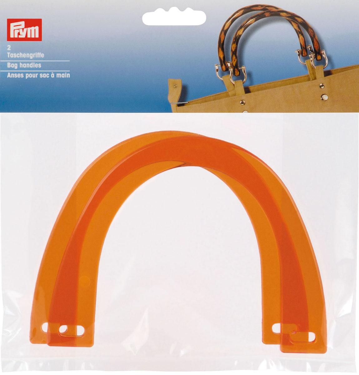 Zakazat.ru Ручки для сумок Регина, пластиковые, 14,5 см х 11 см, цвет: оранжевый, 2 шт