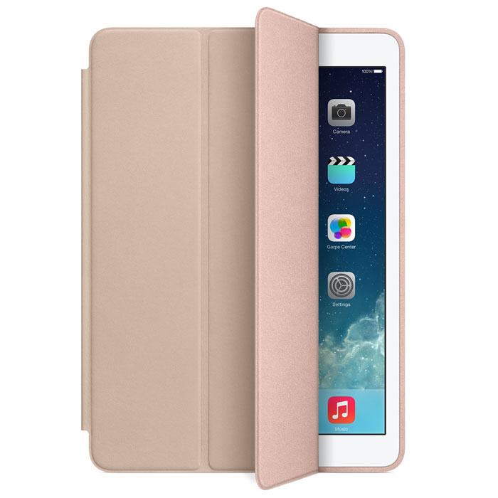 Apple iPad Smart Case чехол для iPad Air, Beige g case slim premium чехол для apple ipad mini 4 white
