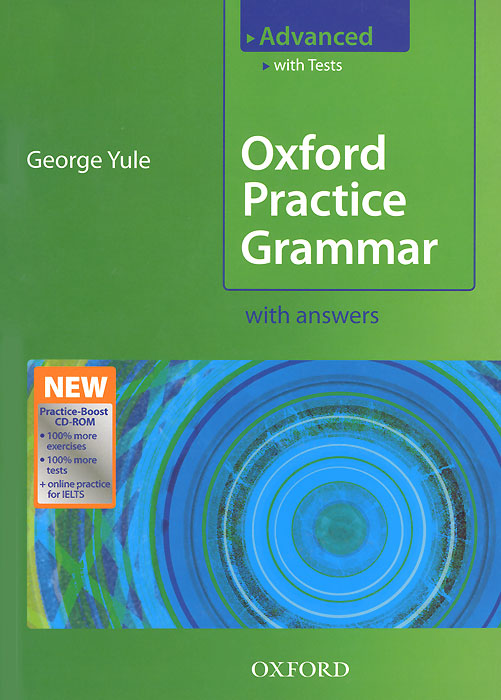 Oxford Practice Grammar Advanced: With Answers ( + CD-ROM) my grammar lab advanced level with key