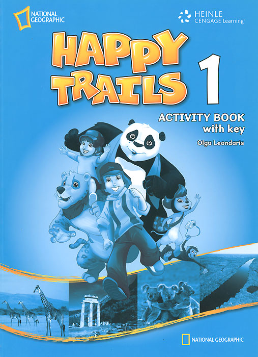 Happy Trails 1 Activity Book Overprinted (with key) set sai l 2 teacher s activity book книга для учителя к рабочей тетради