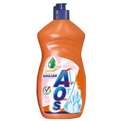 Жидкость для мытья посуды AOS Бальзам, 500 мл жидкость для мытья посуды aos бальзам алоэ вера 500 мл