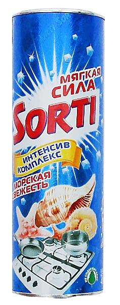 Фото - Чистящее средство Sorti Морская свежесть, 400 г чистящее средство sorti яблоко 400 г