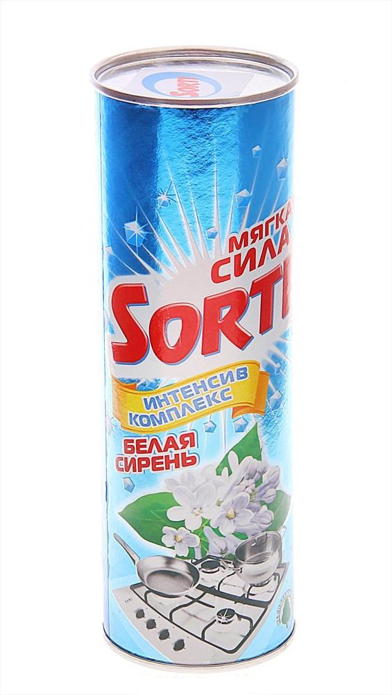 Фото - Чистящее средство Sorti Белая сирень, 400 г чистящее средство sorti яблоко 400 г