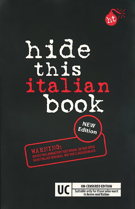 Hide This Italian Book italian visual phrase book