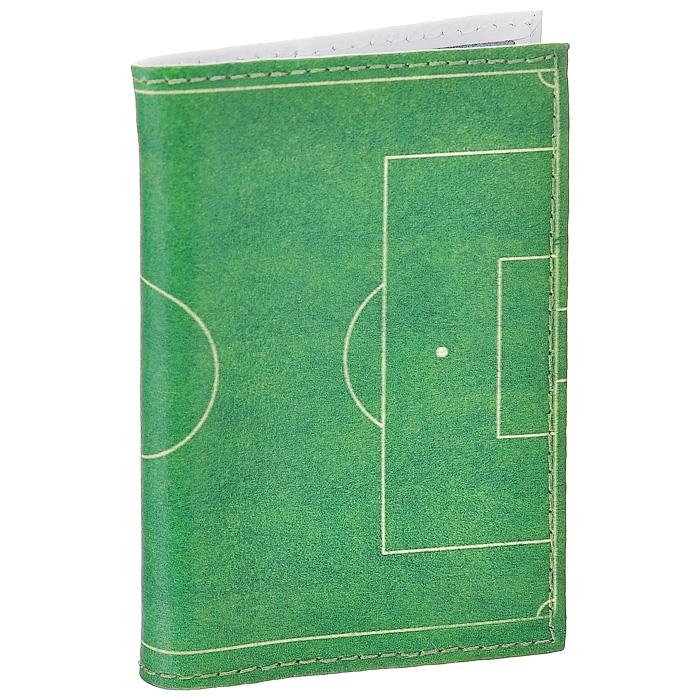 Визитница Футбольное поле. VIZIT-129