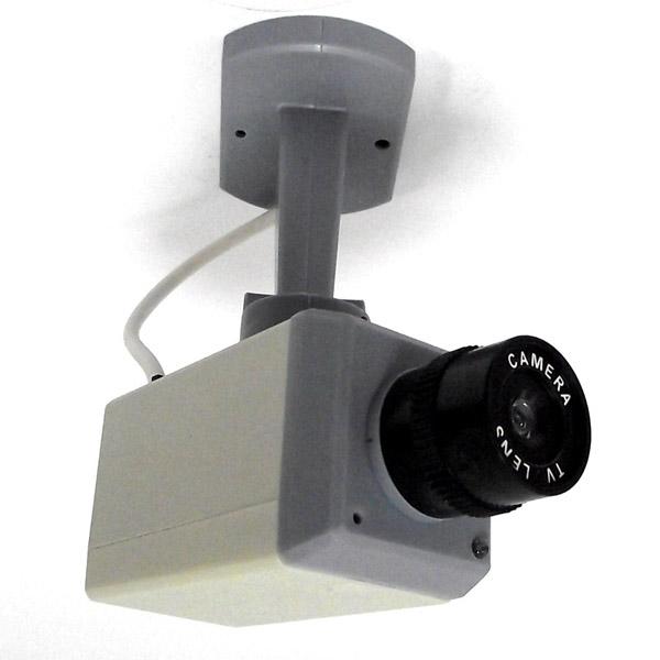 Муляж камеры наблюдения. 9471994719Муляж камеры наблюдения - это декоративная видео камера, невероятно похожая на оригинал. Если подвесить ее к стене, то издалека ее невозможно будет отличить от настоящей. Внутри камеры вмонтирован мигающий светодиод для обеспечения наибольшего сходства с настоящей камерой слежения. Крепежные элементы - в комплекте. Характеристики: Материал: пластик. Цвет: серый, белый, черный. Размер камеры (ДхШхВ): 5 см х 20 см х 8,5 см. Необходимо докупить 3 батарейки типа АА (в комплект не входят).