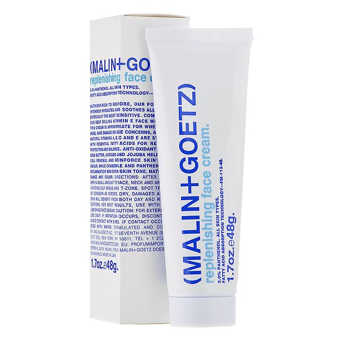 Malin+Goetz Крем для лица, восстанавливающий, 48 гMG058Крем для лица Malin+Goetzсодержит большое количество питательных веществ для восстановления. Он интенсивно увлажняет и успокаивает кожу любого типа, особенно чувствительную. Восстанавливающий крем для лица замечательно подходит и для ночного ухода за поврежденной или сухой кожей, и дляиспользования в качестве основы под макияж. А великолепный натуральный аромат и цвет подарят вам роскошные ощущения при нанесении крема. Характеристики:Вес: 48 г. Производитель: США. Товар сертифицирован.