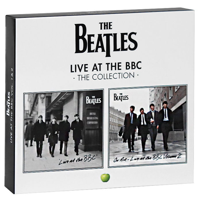 The Beatles The Beatles. Live At The BBC. Volume 1 & 2 (4 CD) bbc sessions cd