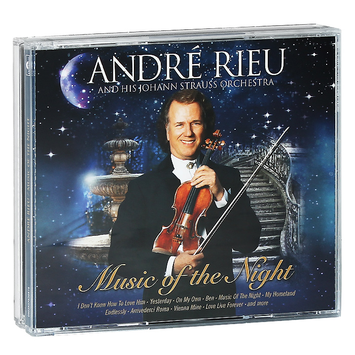 Andre Rieu. Celebrates ABBA / Music Of The Night (2 CD)