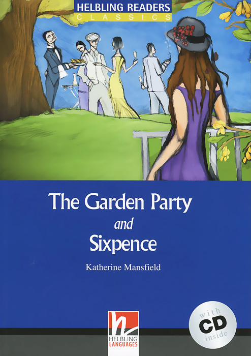 The Garden Party and Sixpence (+ CD) free shipping 10pcs 1203p100 dip8