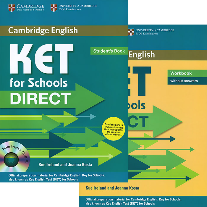 KET for Schools Direct: Students Book. Workbook (комплект из 2 книг + CD-ROM)