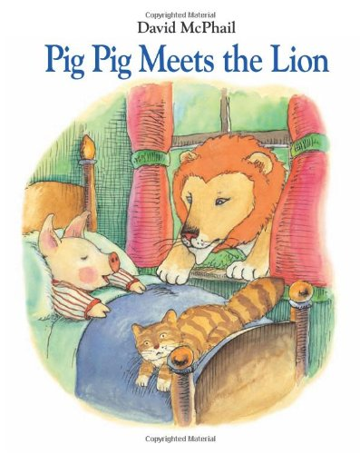 Pig Pig Meets the Lion mastering english prepositions