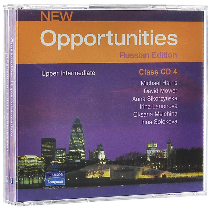 New Opportunities: Russian Edition: Upper Intermediate (аудиокурс на 4 CD) cutting edge upper intermediate active teach аудиокурс на cd rom