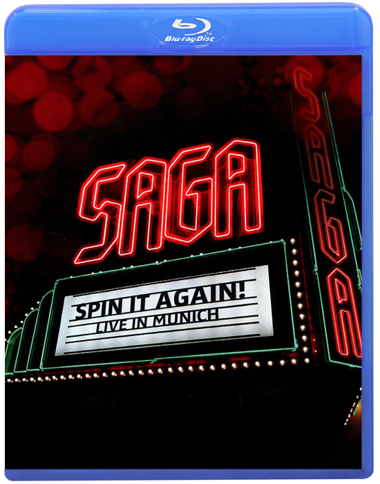 Saga. Spin It Again - Live In Munich (Blu-ray) roxette live travelling the world blu ray cd