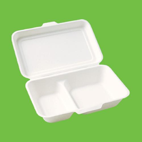 Набор ланч-боксов Gracs, биоразлагаемых, двухсекционных, цвет: белый, 1000 мл, 10 штB002Набор Gracs состоит из 10 биоразлагаемых ланч-боксов, выполненных из экологически чистого материала - сахарного тростника. Материал не содержит токсинов и канцерогенов. Набор Gracs можно использовать как для холодных, так и для горячих продуктов.Набор можно использовать в микроволновой печи.Одноразовая биоразлагаемая посуда Gracs- полезно для здоровья, безопасно для окружающей среды!Размер ланч-бокса: 24 см х 16 см х 4 см.Размер крышки: 24 см х 16 х 2 см.