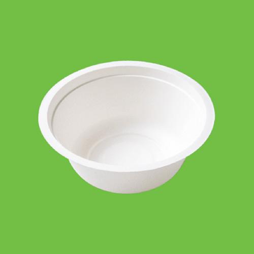 """Набор суповых мисок """"Gracs"""", биоразлагаемых, цвет: белый, 500 мл, 10 шт"""