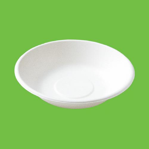 """Набор суповых мисок """"Gracs"""", биоразлагаемых, цвет: белый, 460 мл, 10 шт"""