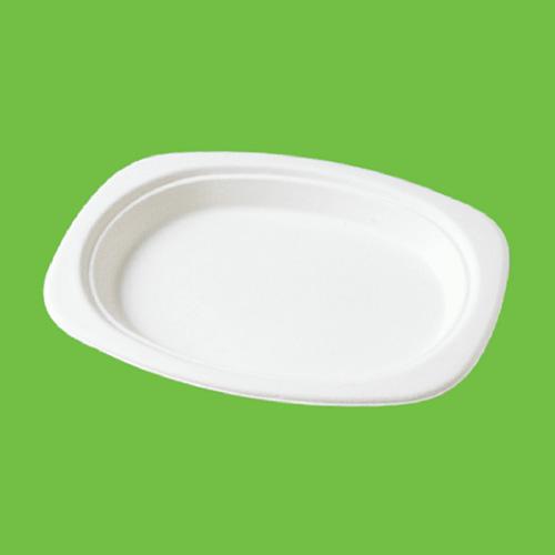 Набор овальных блюд Gracs, биоразлагаемых, цвет: белый, 23 х 16,5 см, 10 штP009Набор Gracs состоит из 10 овальных блюд, выполненных из экологически чистого материала - сахарного тростника. Материал не содержит токсинов и канцерогенов. Набор Gracs можно использовать как для холодных, так и для горячих продуктов.Набор можно использовать в микроволновой печи.Одноразовая биоразлагаемая посуда Gracs- полезно для здоровья, безопасно для окружающей среды!Размер блюда: 23 см х 16,5 см х 2 см.
