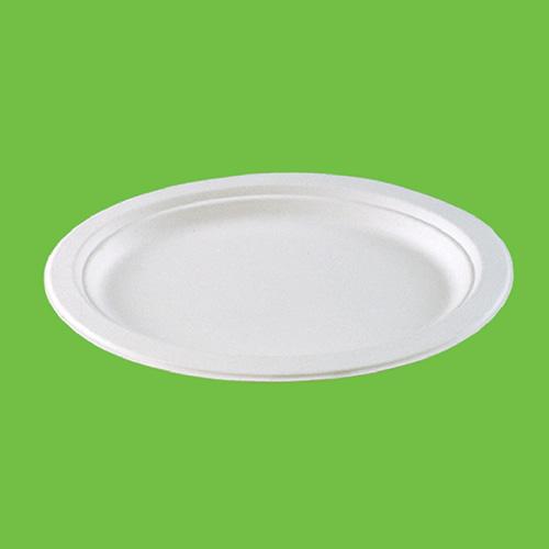 """Набор """"Gracs"""" состоит из 10 овальных блюд, выполненных из экологически чистого материала - сахарного тростника. Материал не содержит токсинов и канцерогенов. Набор """"Gracs"""" можно использовать как для холодных, так и для горячих продуктов.Набор можно использовать в микроволновой печи.  Одноразовая биоразлагаемая посуда """"Gracs""""- полезно для здоровья, безопасно для окружающей среды!Размер блюда: 26 см х 20 см х 1,7 см."""