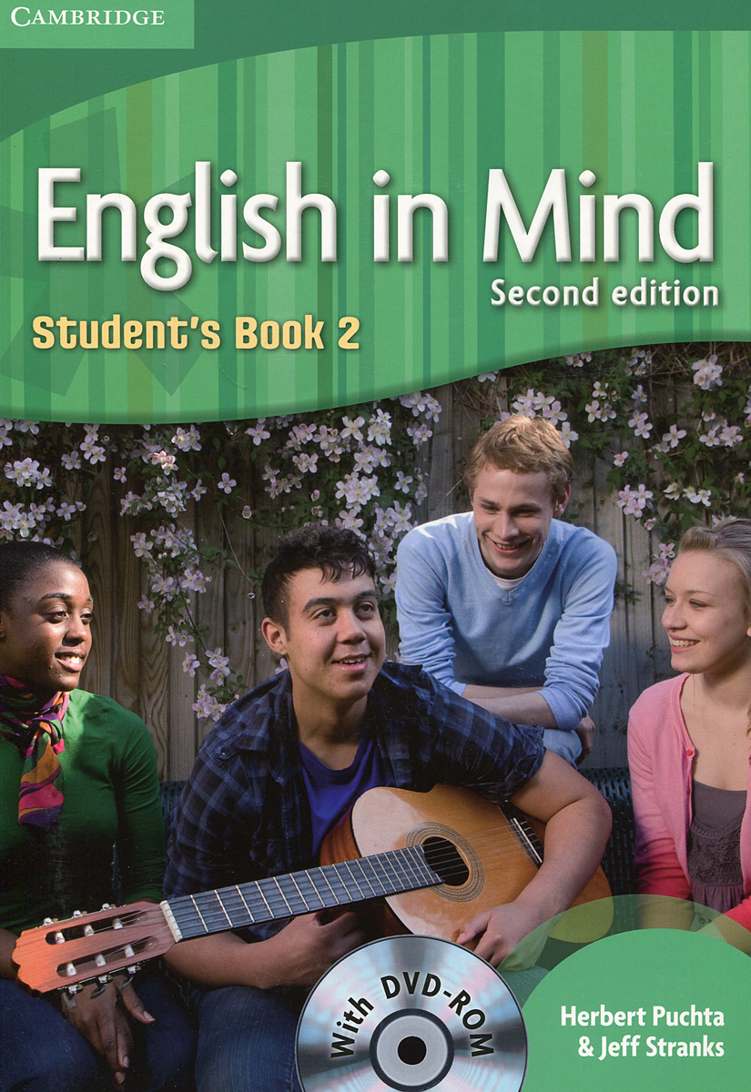 English in Mind: Level 2: Students Book (+ DVD-ROM) cambridge essential english dictionary second edition