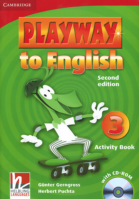 Playway to English 3: Activity Book (+ CD-ROM) цена