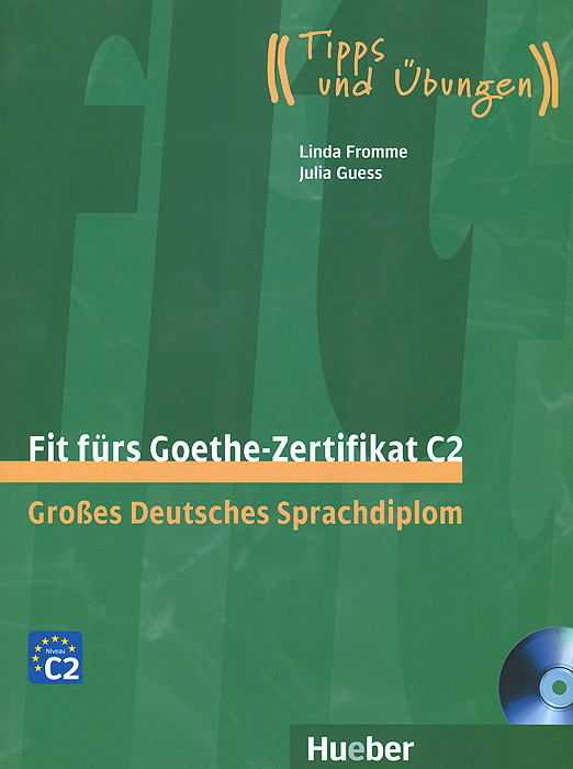 Fit furs Goethe-Zertifikat C2: Grosses Deutsches Sprachdiplom (+ 2 CD) baon весна лето 2017 vogue