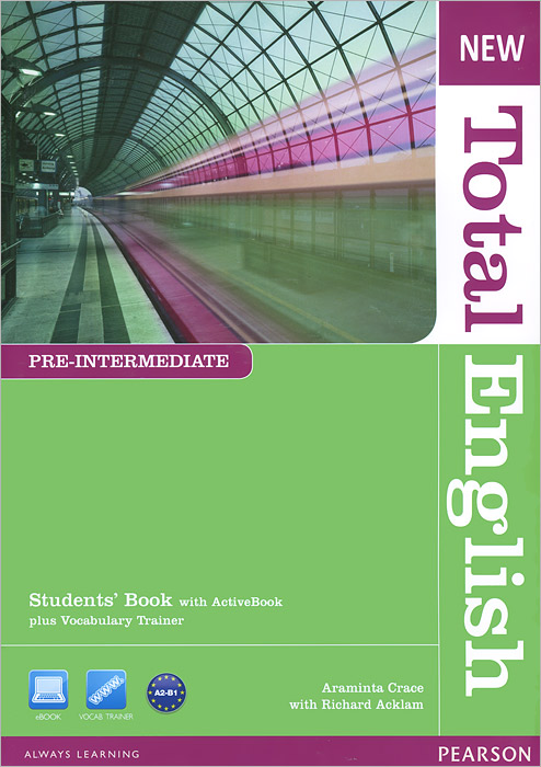 New Total English: Pre-Intermediate: Student's Book (+ DVD-ROM) total english intermediate student s book dvd rom