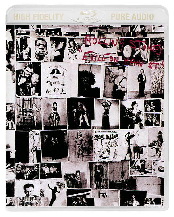 The Rolling Stones The Rolling Stones. Exile On Main Street (Blu-Ray Audio) the rolling stones from the vault live in leeds 1982 blu ray