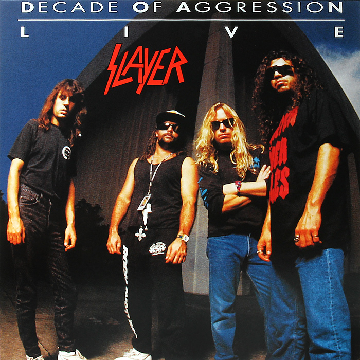 Slayer Slayer. Live Decade Of Aggression (2 LP) скейтборд rgx aggression 1