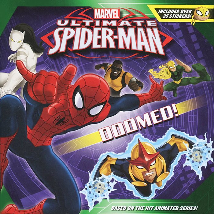 Ultimate Spider-Man: Doomed! (+ наклейки)