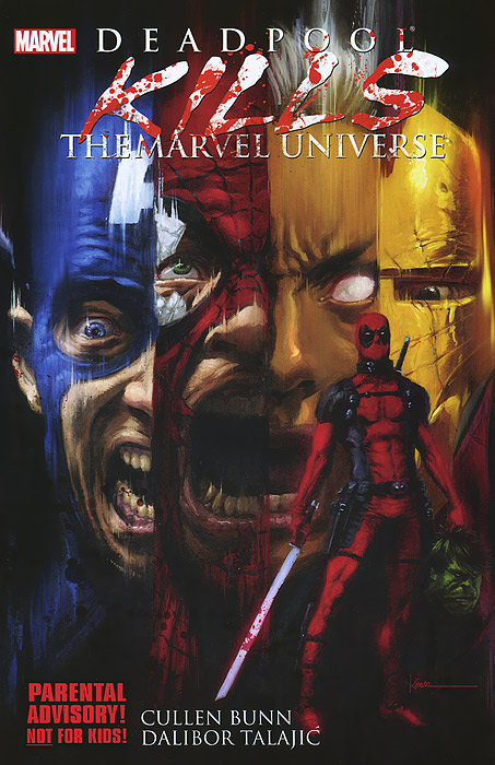 Deadpool: Kills the Marvel Universe life the universe and everything