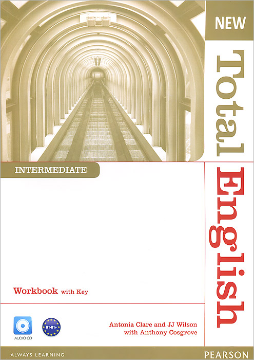 New Total English: Intermediate: Workbook with Key (+ CD) new total english starter workbook with key cd