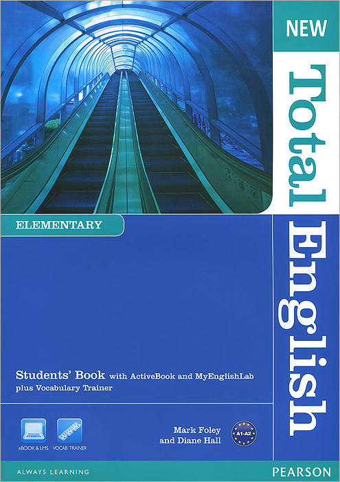 New Total English: Elementary Level: Student's Book with ActiveBook and MyEnglishLab plus Vocabulary Trainer (+ CD-ROM) new and original zd 70n optex photoelectric switch photoelectric sensor npn output