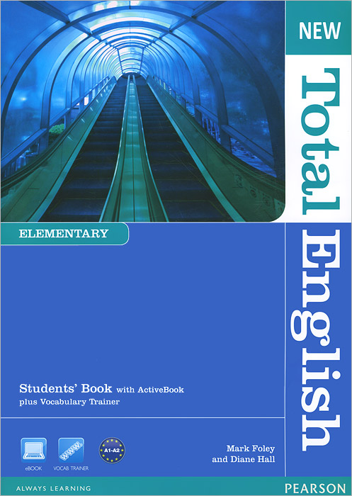 New Total English: Elementary Level: Student's Book with ActiveBook plus Vocabulary Trainer (+ CD-ROM)