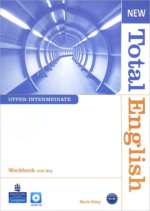 Фото - New Total English: Upper Intermediate: Workbook with Key (+ CD) real madrid zalgiris kaunas