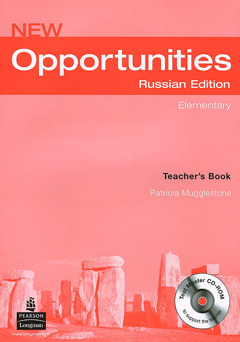 New Opportunities: Elementary: Teacher's Book (+ CD-ROM) new opportunities russian edition elementary test book