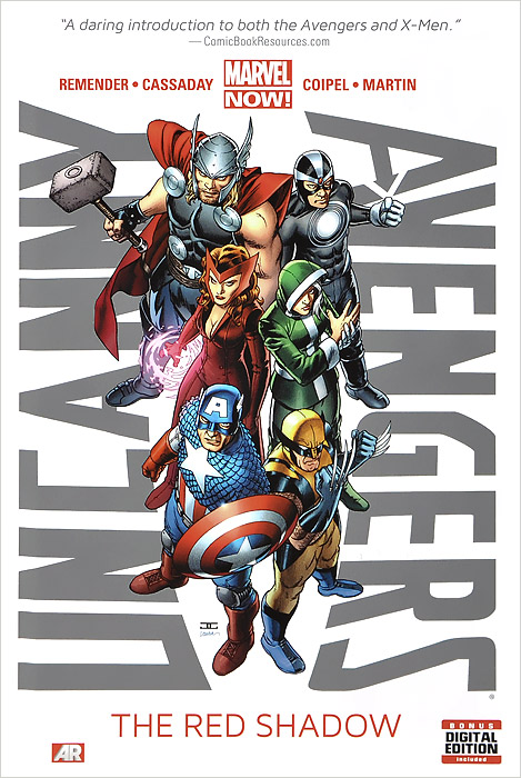 Uncanny Avengers: The Red Shadow: Volume 1 red men