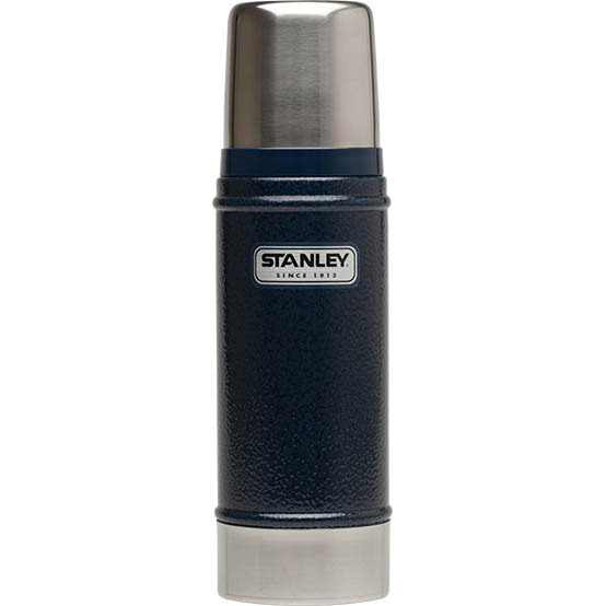 Термос Stanley Classic Vacuum Bottle, цвет: темно-синий, 0,75 л термос stanley classic vacoom flask 500ml dark blue 10 00811 013