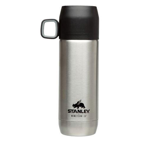 Термос Stanley Nineteen 13 Vacuum Flask, цвет: стальной, 0,47 л