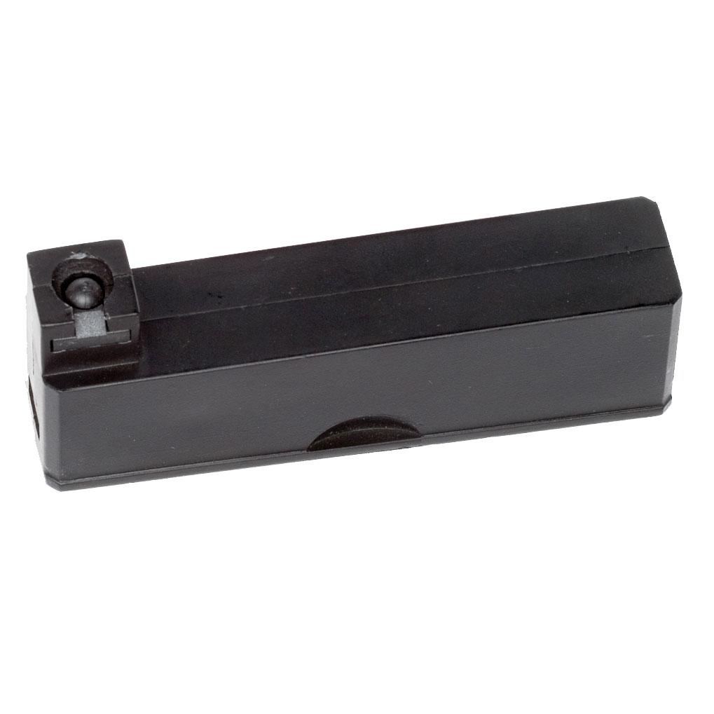 ASG магазин для Steyr SSG 69 P2 spring, 6 мм, 2 шт (15470)15470Магазин для страйкбольной пружинной винтовки Steyr SSG 69, 6 мм (артикул 15433). Упаковка 2 шт.Уважаемые покупатели, при использовании пневматики соблюдайте технику безопасности: храните в разряженном состоянии в местах недоступных для детей, не направляйте на людей и животных, при стрельбе следите, чтобы в районе мишени не было людей, всегда используйте защитные очки и экипировку, перевозите пневматику в чехлах и сумках, не носите открыто в общественных местах! Перед использованием прочтите инструкцию! Грамотное обращение с пневматикой - залог Вашего приятного отдыха! Уважаемые покупатели, обращаем Ваше внимание, что авиадоставка в нижеперечисленные города этого товара временно недоступна! 1. Ангарск 2. Благовещенск 3. Бодайбо 4. Братск 5. Владивосток 6. Воркута 7. Иркутск 8. Калининград 9. Надым 10. Нарьян-Мар 11. Находка 12. Норильск 13. Петропавловск-Камчатский 14. Салехард 15. Улан-Удэ 16. Уссурийск 17. Ухта 18. Хабаровск 19. Чита 20. Энергетик 21. Южно-Сахалинск 22. Якутск Возвраттоваравозможен только при наличии заключения сервисного центра.Время работы сервисного центра: Пн-чт: 10.00-18.00 Пт: 10.00- 17.00Сб, Вс: выходные дниАдрес: ООО ГАТО, 121471, г.Москва,ул.ПетраАлексеева,д12., тел. (495)232-4670, gato@gato.ruЦвет: черный.Размер упаковки: 17 см x 8 см x 3 см. Артикул: 15470.