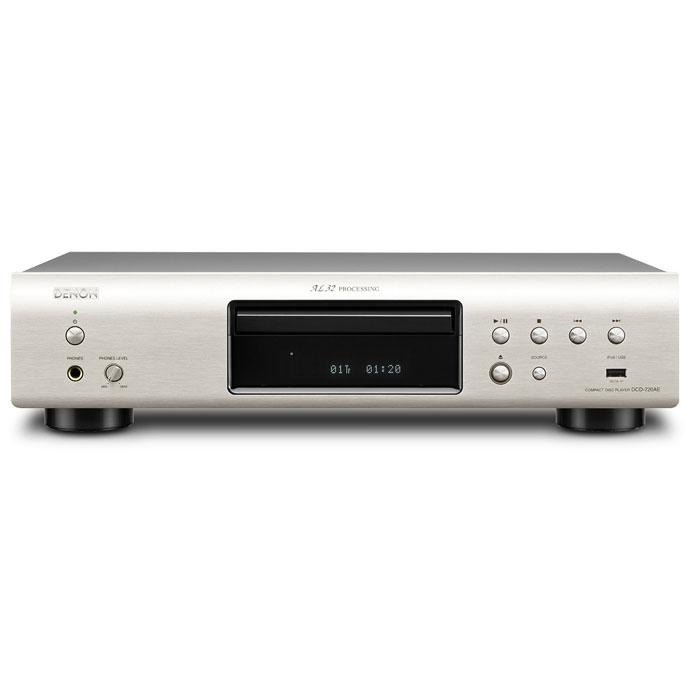 Denon DCD-720AE, Silver CD проигрыватель denon dcd 720ae premium silver