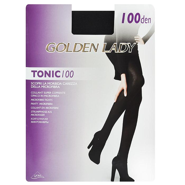 Колготки женские Golden Lady Tonic 100, цвет: черный. Размер 3 golden lina колготки оптом